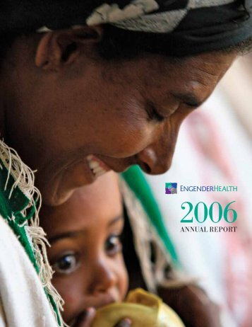 2006 Annual Report - EngenderHealth