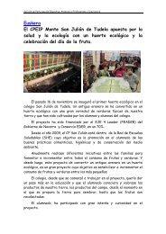 El CPEIP Monte San Julián de Tudela apuesta por la ... - Navarra