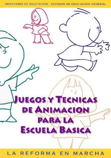 Juegos y técnicas de Animación para la escuela básica - Sector ...