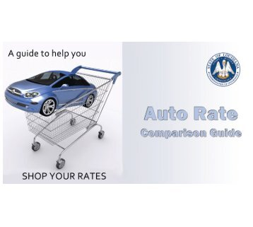Auto Rate Comparison Guide - Louisiana Department of Insurance