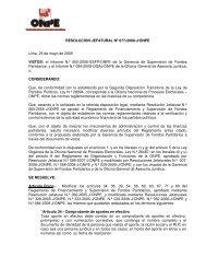 Reglamento de Financiamiento y Supervisión de Fondos ... - ONPE