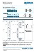 Metal Strip Current Sense Resistors Surface Mount - TT electronics ... - Page 3
