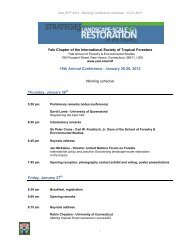 18th Annual Conference - January 26-28, 2012 ... - The REDD Desk