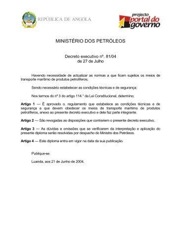 Regulamento que Estabelece as Condições Técnicas e de ... - saflii