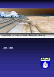 Županijska razvojna strategija Zadarske županije 2011.- 2013