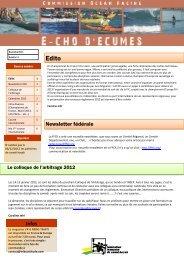 11: e-letter Novembre 2011 - FFCK