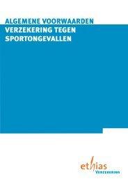 algemene voorwaarden verzekering tegen sportongevallen - GymFed