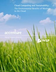 Cloud Computing and Sustainability - Download Center - Microsoft