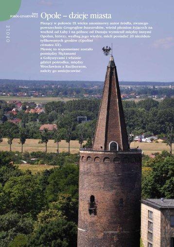 Opole – dzieje miasta
