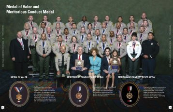 Medal of Valor and Meritorious Conduct Medal - Los Angeles ...