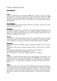 CASE IH – MAXXUM X-Line 110 Dane techniczne ... - Tech-Kom