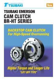 BR-HT Series Cam Clutch Catalog English - Tsubaki Europe