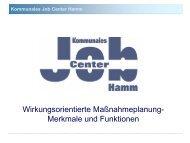 Kommunales Job Center Hamm - Bundeskongress-sgb2.de