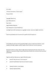Tesisin Temel Atma, 2 Tesisin Açılışı - Devlet Su İşleri Genel ...
