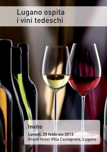 Lugano ospita i vini tedeschi - ceresiovini.ch