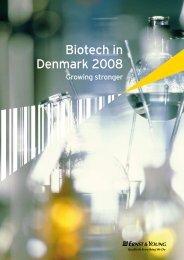 Biotech in Denmark 2008 - Dansk Biotek