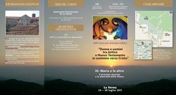 XVII Corso per animatori biblici - Chiesa Cattolica Italiana