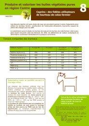 Caprins : des fidèles utilisateurs de tourteau de colza fermier