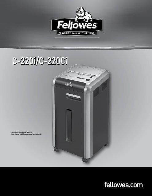 C-220i/C-220Ci - Fellowes