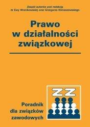 Prawo w działalności związkowej - Verlag Dashofer