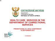 DCS & HPCA – care in correctional services - Hospice Palliative ...