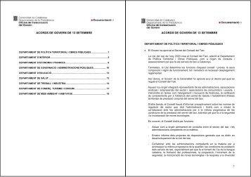 acords de govern de 13 setembre acords de govern de 13 setembre