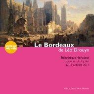 Le Bordeaux de Léo Drouyn