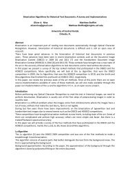 Binarization Algorithms for Historical Text Documents: A Survey and ...