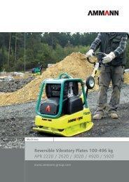 Reversible Vibratory Plates 100-496 kg APR 2220 ... - SimmaRent