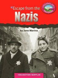 Lesson 23:Escape from the Nazis
