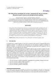 Revisión de las estrategias de servicio y propuesta de ... - Adingor.es