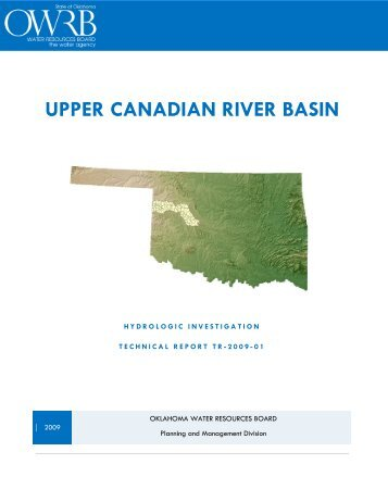 UPPER CANADIAN RIVER BASIN - Water Resources Board