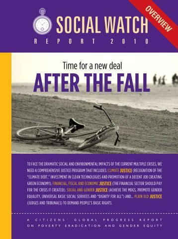 Time for a new deal - Social Watch