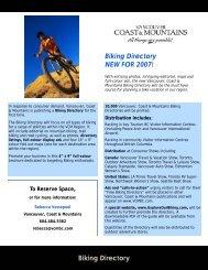 Biking directory Listings sales piece.pub - Mountain Bike Tourism ...
