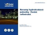 Revamp hydrokrakové jednotky České rafinérské - Česká rafinérská ...