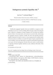 Endogenous systemic liquidity risk ⋆