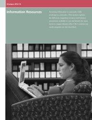 Information Resources Information Resources - SCampus