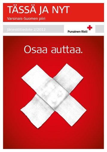 SPR VS Tässä ja Nyt järjestötiedote 2_2012.pdf - RedNet
