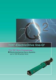TOX®-ElectricDrive line-Q² - Tox Pressotechnik
