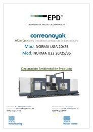 Mod. NORMA UGA 20/25 Mod. NORMA U22 20/25/35