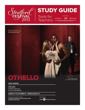 OTHELLO - Stratford Festival