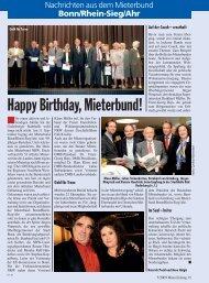 Mieterzeitung Oktober 2009 - Deutscher Mieterbund Bonn/Rhein ...