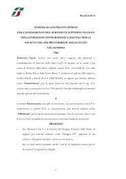 schema di contratto aperto per l'affidamento del servizio di supporto ...
