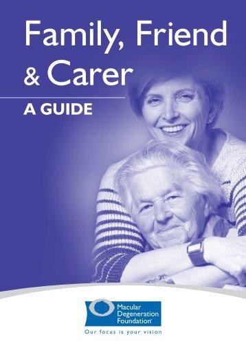 Family, Friend & Carer - Macular Degeneration Foundation