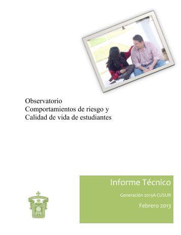 Informe Técnico - Centro Universitario del Sur - Universidad de ...