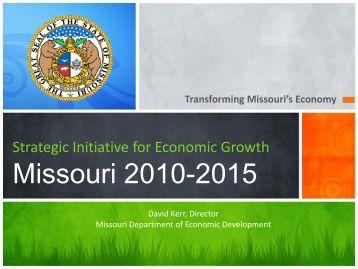 Kerr, Str Com #1 - Missouri Department of Economic Development