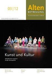 03 | 12 Kunst und Kultur - Verband der Seniorenwohnheime Südtirols
