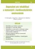Doporučení pro rehabilitaci u nemocných s kardiovaskulárním ... - Page 2