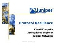Protocol Resilience - RIPE 64