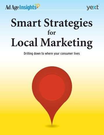 Smart Strategies for Local Marketing - Advertising Age